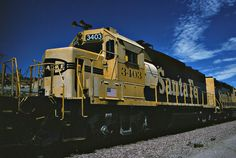 https://flic.kr/p/H5EGfo | Santa Fe GP39-2 No. 3403 At Cajon Summit