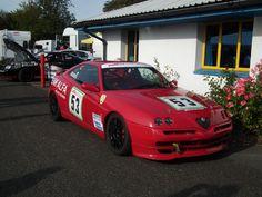 Alfa Romeo GTV pre race