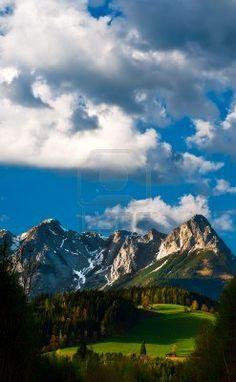 Alpes del Sur de Salzburgo, Austria                                                                                                                                                                                 Mais