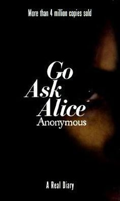 Go Ask Alice by Anonymous.  Read this in high school - YES - that long ago.  Had my 13 year old daughter read too - she loved it.