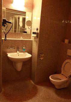 Hotel Zlat� Lev �atec - koupelna 02 Lev, Restaurant Vouchers, Sink, Mirror, Bathroom, Furniture, Home Decor, Sink Tops, Washroom