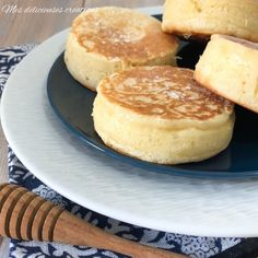 Cheesecake Pancakes, Thermomix Desserts, Thermomix Pancakes, Crumpets, Mini Cheesecakes, Beignets, Biscuits, Brunch, Bakery