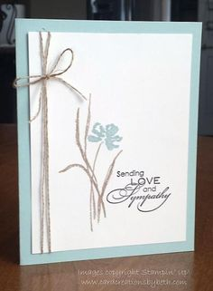 Simple Sympathy by mcalexab - Cards and Paper Crafts at Splitcoaststampers