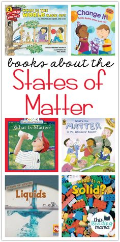 If you're learning about the states of matter, here are a few States of Matter Books for Kids you don't want to miss. These go fantastic with our States of Matter Unit Study for K-2Learners! {Find more of our unit studies here.} *This post contains affiliate links.   States of Matter Books for Kids …