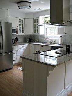 Restoration Hardware Heath Light, Ikea Cabinets · Flush Mount Kitchen  LightingIkea KitchenKitchen RenoU ...