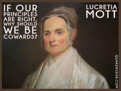 Lucretia Mott Quote