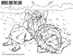 free bible coloring pages - bible story pages - exciting bible ... - Bible Story Coloring Pages Daniel