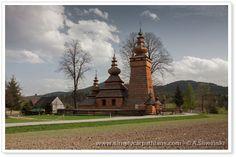 Old wooden Orthodox Church on UNESCO list. Beskid Niski #Poland