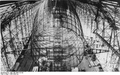 Construction of the Hindenburg