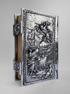 Annuntiationis Domini - silver book cover - 18th century