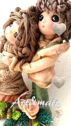 Art&mais: L'attesa/ https://it.pinterest.com/pin/783978247603765477/ doll in pasta di mais/porcelana fria/cold porcelain/fimo/pasta polimerica/bomboniere/oggetti fai da te/articoli regalo/pasta di mais/tutorial