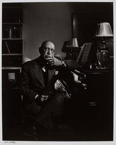 Igor Stravinsky. Portrait by Yousuf Karsh in 1952