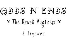 Cantrap - Odds N Ends | Let me give you the six liquor breakdown by drunks. This is the highball version | Vodka, Rum, Scotch, Bourbon, Gin & Tequila - both funny and spot on!