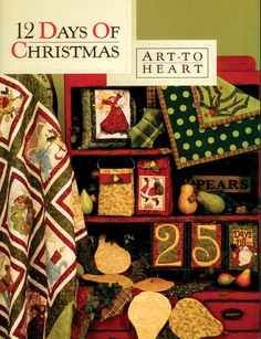 Everything you need to make this Christmas in July special! Art+To+Heart+-12+Days+Of+Christmas+