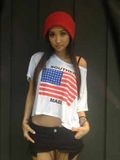 Brenda Song - Cute outfit!