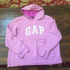 GAP SWEATSHIRT XL Worn once, pretty purple, super comfy GAP Tops Sweatshirts & Hoodies