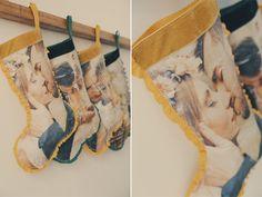 calcetines navidad diy 10 Fotos para Noel. Calcetín de Navidad DIY