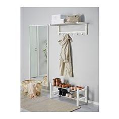 TJUSIG Schuhaufbewahrung, weiß - 79 cm - IKEA