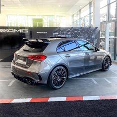Mercedes-AMG W177 A 35 #mercedes #a35 #amg #a35amg #grey #amga45 #amgcar #amgaddict
