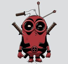 Minionpool T-Shirt - Deadpool T-Shirt is $11 today at Ript!