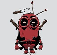 Minionpool T-Shirt - Deadpool T-Shirt is $11 today at Ript!