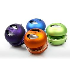 Mini speakers for instant parties