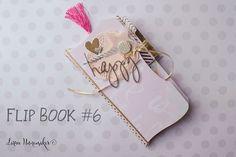 Flip Book 6 - Snail Mail Mini Scrapbook Albums, Mini Albums, Snail Mail Flipbook, Minis, Mini Books, Flip Books, Snail Mail Pen Pals, Diy Crafts For Girls, Fun Mail