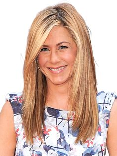 Her length may have changed through the years, but Jennifer Aniston has always had angled layers that give her fine hair structure.   - Redbook.com
