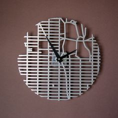 New York City Grid Clock By Pedro Velasquez III & Jason Do
