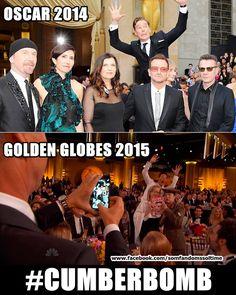 That's our Cumberbatch! #Cumberbomb