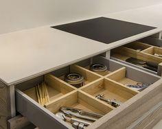 Specialist In Modern Kitchens, Devon Grey Stain, Grey Fashion, Shoe Rack, Modern, Kitchen, Home, Style, Bathroom Furniture, Swag