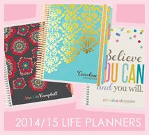 I'm REALLY excited to get organized this year with my Erin Condren life planner. I love that everything is customizable!