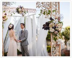 French wedding arch by PANACEA event floral design featured on 100 Layer Cake French Wedding, Formal Wedding, Wedding Ceremony, Daytime Wedding, Wedding Designs, Wedding Styles, Wedding Ideas, Perfect Wedding, Dream Wedding