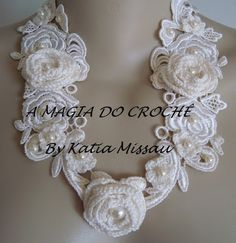 THE MAGIC OF CROCHET - Katia Missau: Necklace Angel
