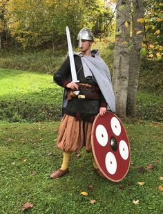 """The final article in the """"Dressing a Viking Warrior"""" segment is complete. This last article covers the most elite of Viking Age Danish warrior culture and the clothing and equipment worn and carried."""