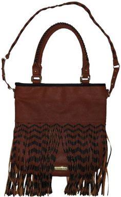 Steve Madden Women's Large Fringy Tote Handbag (Cognac/Bl... https://www.amazon.com/dp/B00ISY93WG/ref=cm_sw_r_pi_dp_x_Pz08xbSM2K809