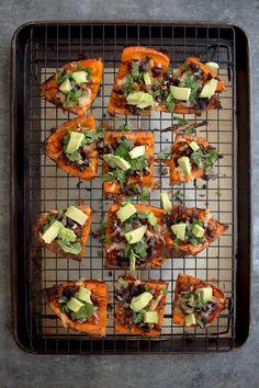 Sweet Potato Skins recipe by @beardandbonnet on www.beardandbonnet.com