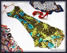 PHASE EIGHT Śliczna Sukienka Glamour Plażowa 42/44