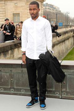 Frank Ocean | Front Row Christian Dior