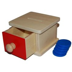 Posting box with drawer