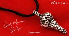 Lord Hanuman Pendant With Oxidised Finish PRODUCT CODE:368571 #fashion #lord #god #pendant #fashion #online #shopping