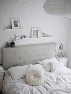 1000 images about deco habitaci n on pinterest hemnes - Dormitorios vintage blanco ...