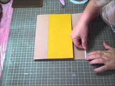 Tim Holtz Folio, kit waterfall. Oct. Kit Video Tutorial Series Part 7 - YouTube