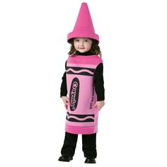 Crayola Tickle Me Pink Toddler  sc 1 st  Pinterest : crayon costumes for girls  - Germanpascual.Com