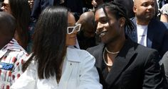 A$AP Rocky walked the red carpet of the Tribeca Film Festival in New York on Sunday and was all praise for his girlfriend Rihanna. For the unversed, the rapper was attending the premiere of his new documentary Stockholm Syndrome. On the red carpet, A$AP Rocky spoke to Entertainment Tonight and opened up about the film as well as Rihanna's cameo in it. The documentary, which revolves around Rocky's life and his time in Swedish prison for some high-profile legal troubles, also stars a few other k Rihanna Show, Rihanna Fan, Rihanna Photos, Rihanna Outfits, Rihanna Style, Asap Rocky Rihanna, Divas, Kendall, We Heart It