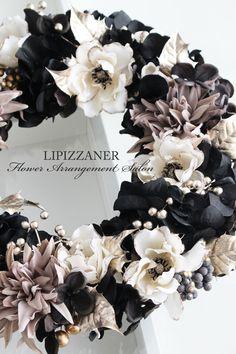 DiplomaコースNo.9Wreath Advanceのご案内です   LIPIZZANER Flower Arrangement Salon