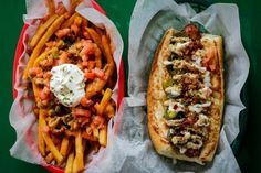 Alligator Dog & Crawfish Étouffé Fries – Dat Dog (Uptown) - 23 Foods You can only find in NoLA