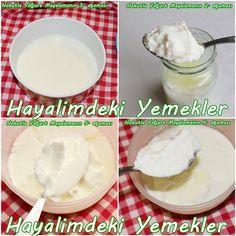 nohutla yoğurt yapımı