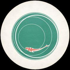 """Marcel Duchamp, """"Rotorelief No. 5, """"Japanese Fish"""" (recto.) """""""