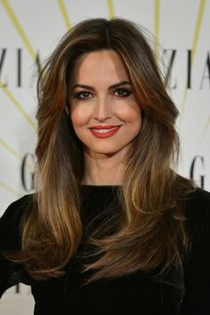 Ariadne Artiles hair with volume